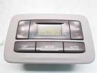 2013 Toyota Sienna Temperature Climate HEATER AC CONTROL ON DASH Replacement