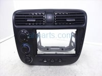 2003 Honda Civic Temperature Climate heater Temp Controller Assembly W AC Vents Replacement