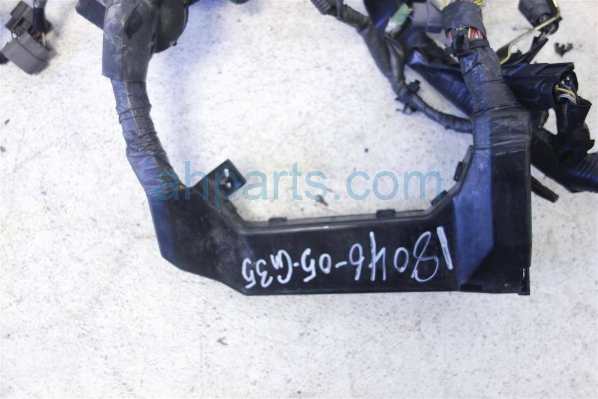 2005 Infiniti G35 Engine Wire Harness Sedan At 24011 Am801 Wiring Replacement
