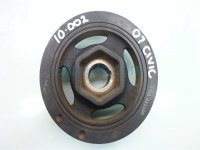 2007 Honda Civic Crank shaft pulley HARMONIC BALANCER with bolt 13810RNA A02 13810RNAA02 Replacement