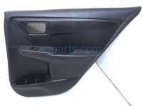 $100 Toyota RR/RH DOOR TRIM LINING PANEL - BLACK