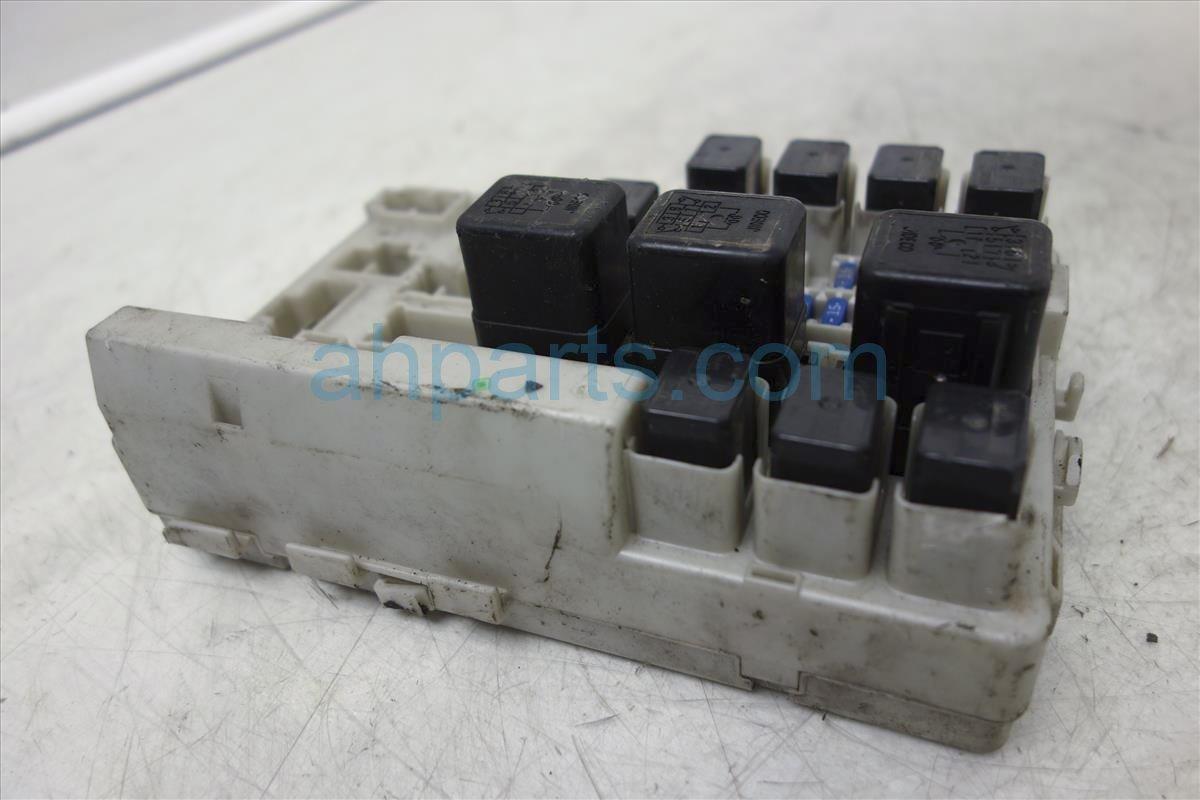 2005 nissan quest fuse box, 3 5l, at, 4th vin digit b 284b7