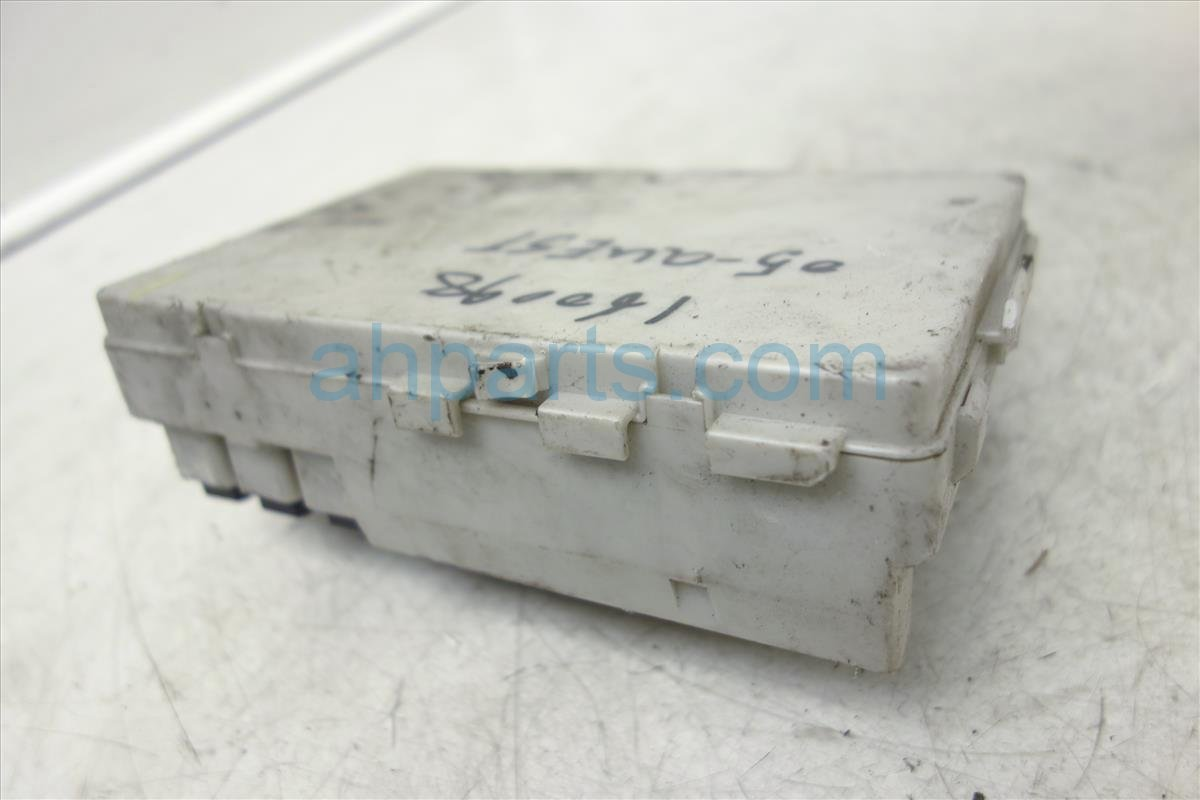 2005 Nissan Quest Fuse Box 35l At 4th Vin Digit B 284b7 Ck020 05