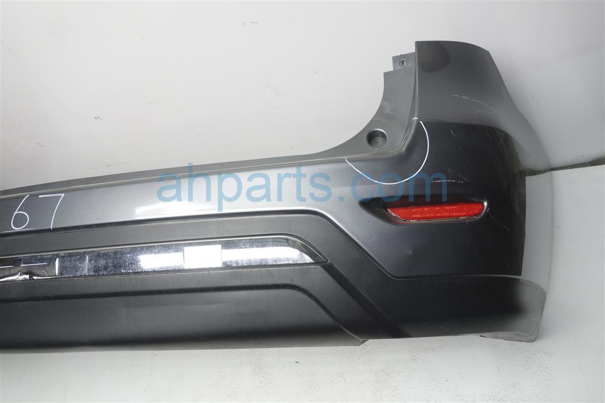 2015 Nissan Pathfinder Rear Bumper Cover, Grey, 85022-3KA0H Replacement
