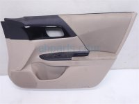 $140 Honda FR/RH DOOR PANEL (TRIM LINER) TAN
