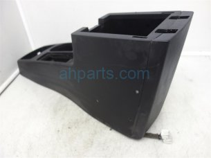 CENTER CONSOLE ASSEMBLY, CHARCOAL
