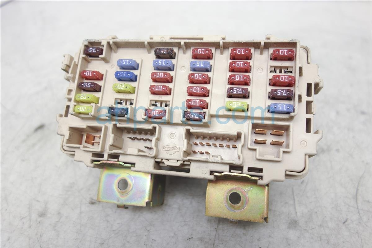 Nissan xterra fuse box block junction z