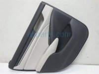 $150 Honda RR/LH DOOR PANEL LIGHT GRAY/BLACK