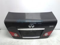 $230 Infiniti TRUNK LID W/ BACKUP CAMERA- BLACK