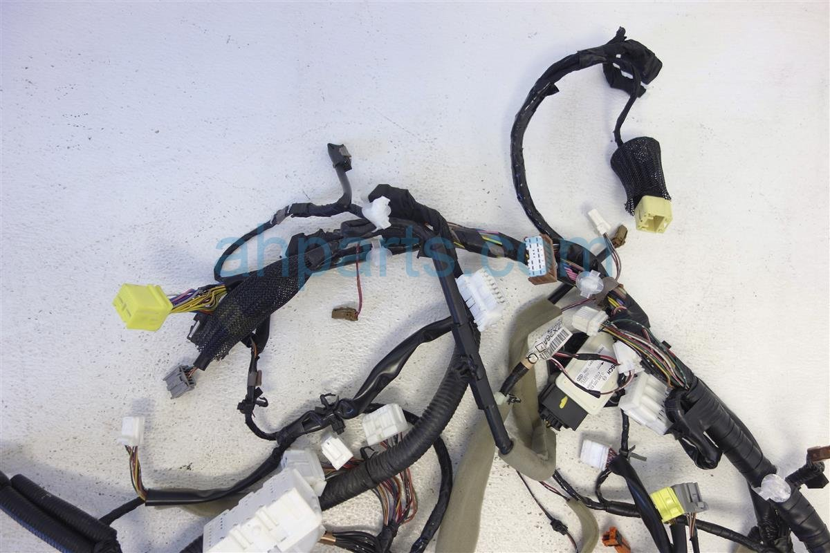 2011 Nissan Altima Dash Wire Harness 35l Sr Cvt 24010 Zx61c Replacement