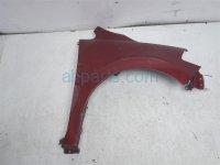 $125 Nissan FR/RH FENDER -RED