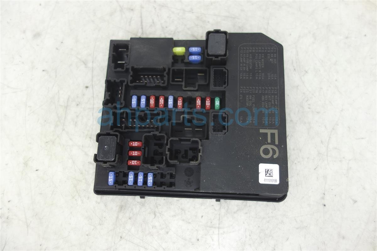 2011 Nissan Juke Repment Fuse Box Door Circuit Diagram Schema 2013 2014 Engine Room Ipdm 284b7 1tw1a