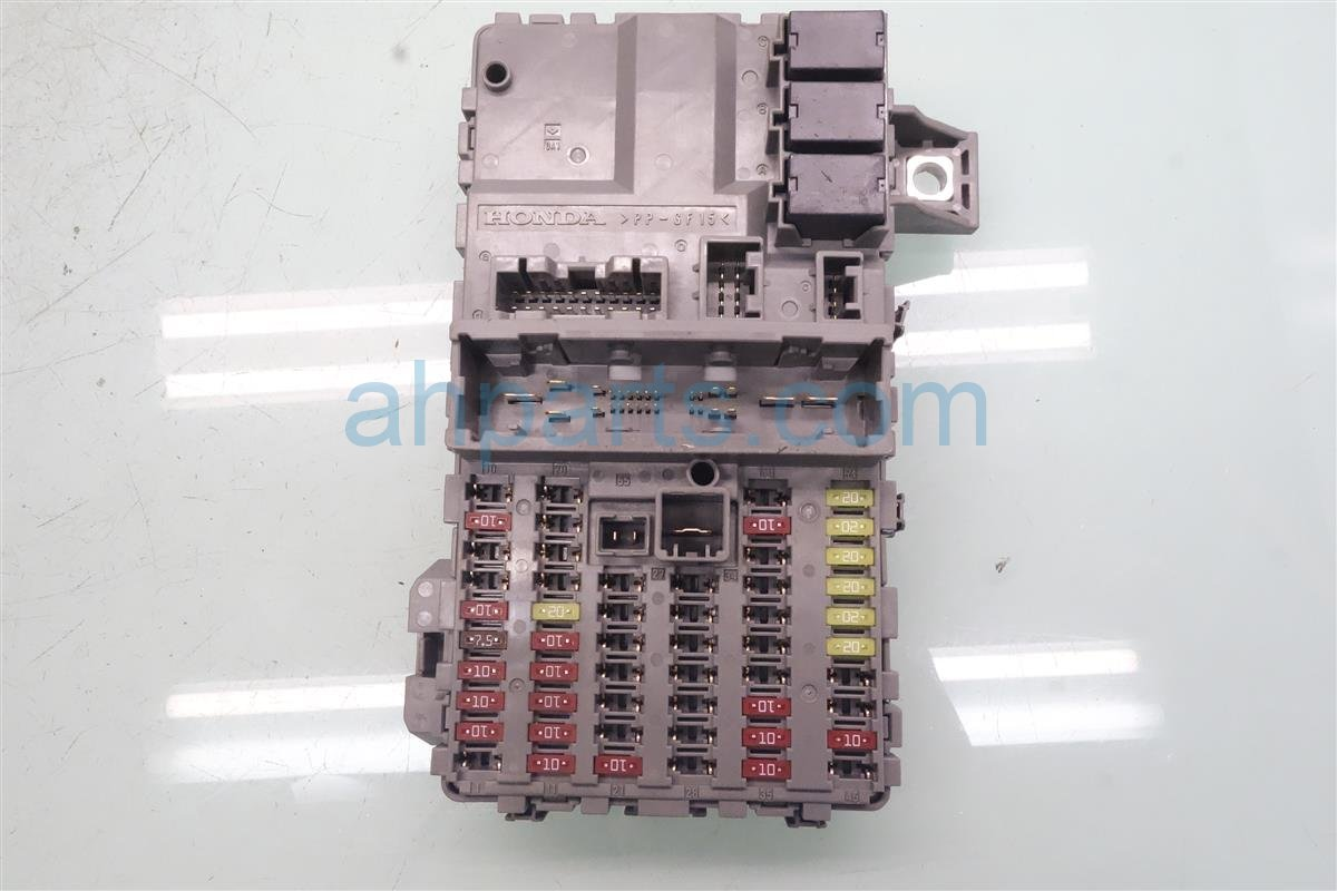 2018 Honda Accord Cabin Fuse Box 38200