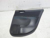 $75 Nissan RR/RH INTERIOR DOOR PANEL, BLACK