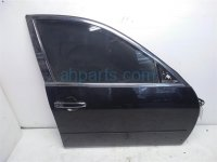 $195 Infiniti FR/RH DOOR NO MIRROR OR TRIM PANEL