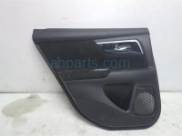 $100 Nissan RR/LH INTERIOR DOOR TTIM, BLACK