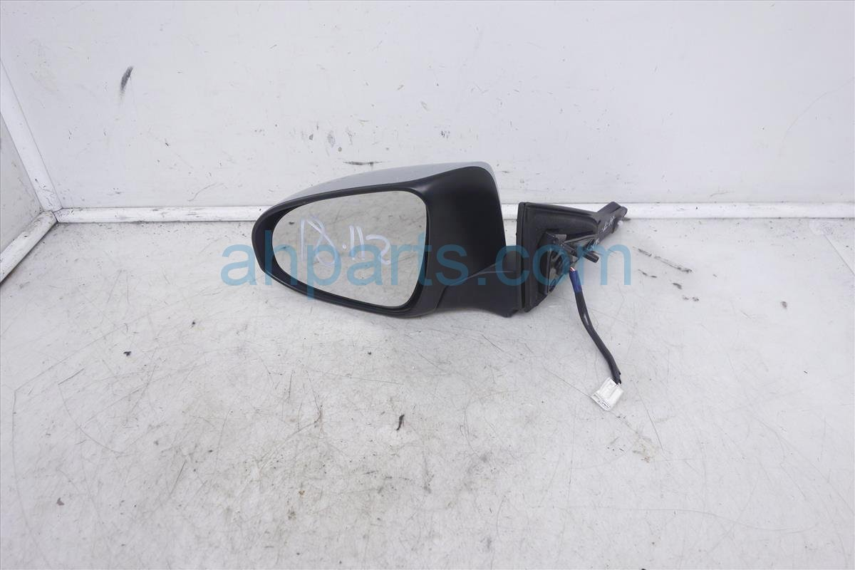 2015 Toyota Camry Passenger Side Rear View Mirror Silver