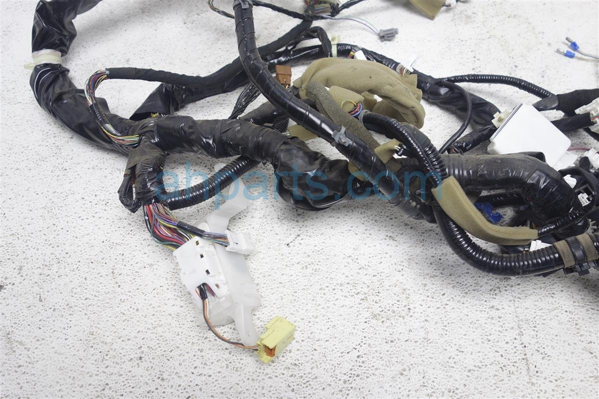 2007 Infiniti G35 Main Body Wiring Harness Cut Wires 24010 Cf90b Cover Replacement