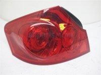 $75 Infiniti LH TAIL LAMP - LIGHT ON BODY