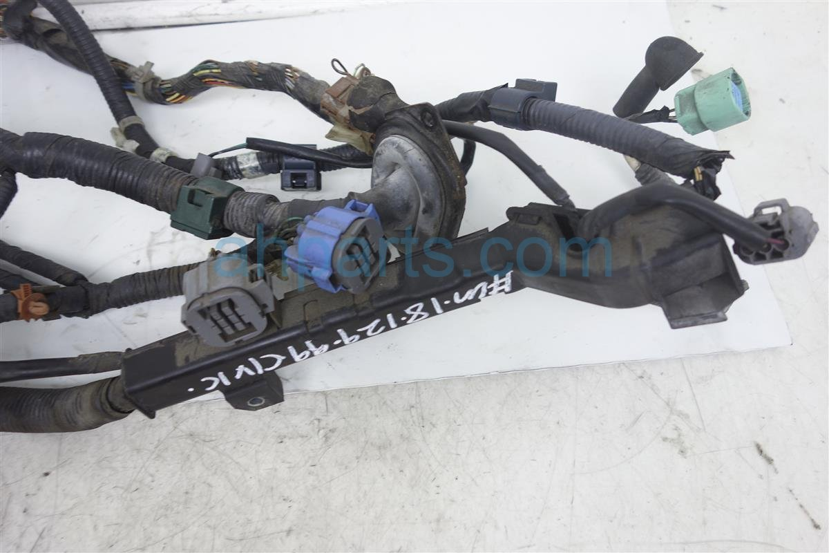 Honda Civic Engine Diagram Engine Wire Harness Honda Oem Parts 1996