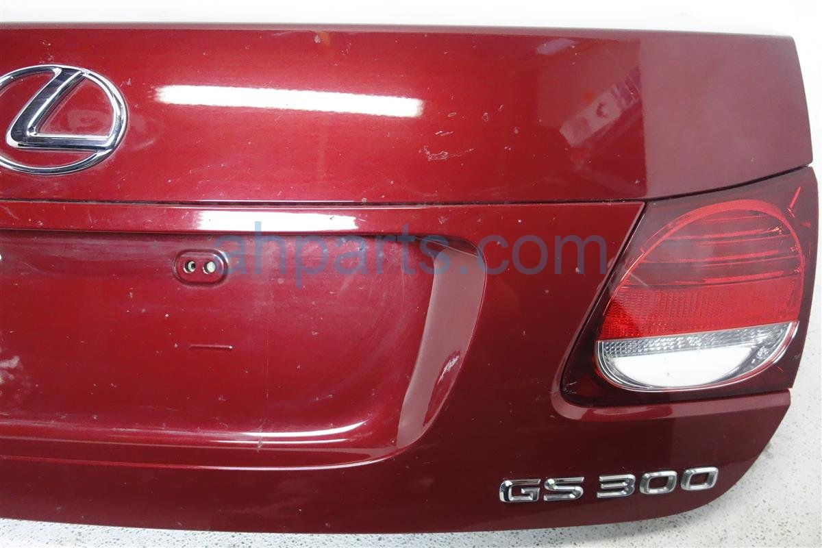 2006 Lexus Gs300 Deck Lid/rear Trunk Red 64401 30A80 Replacement