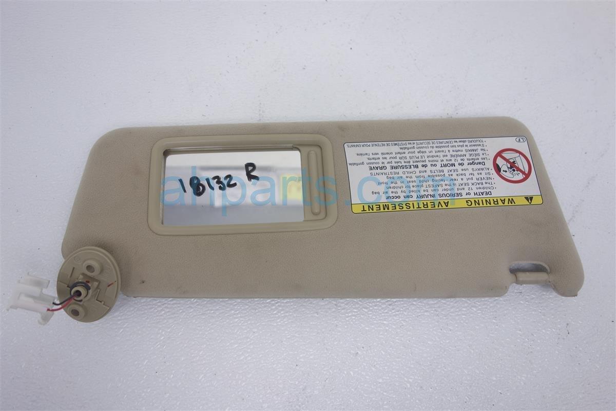 2006 Lexus Gs300 Driver Sun Visor Tan 74320 30A20 A0 Replacement