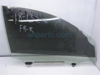 $75 Lexus FR/RH DOOR GLASS WINDOW