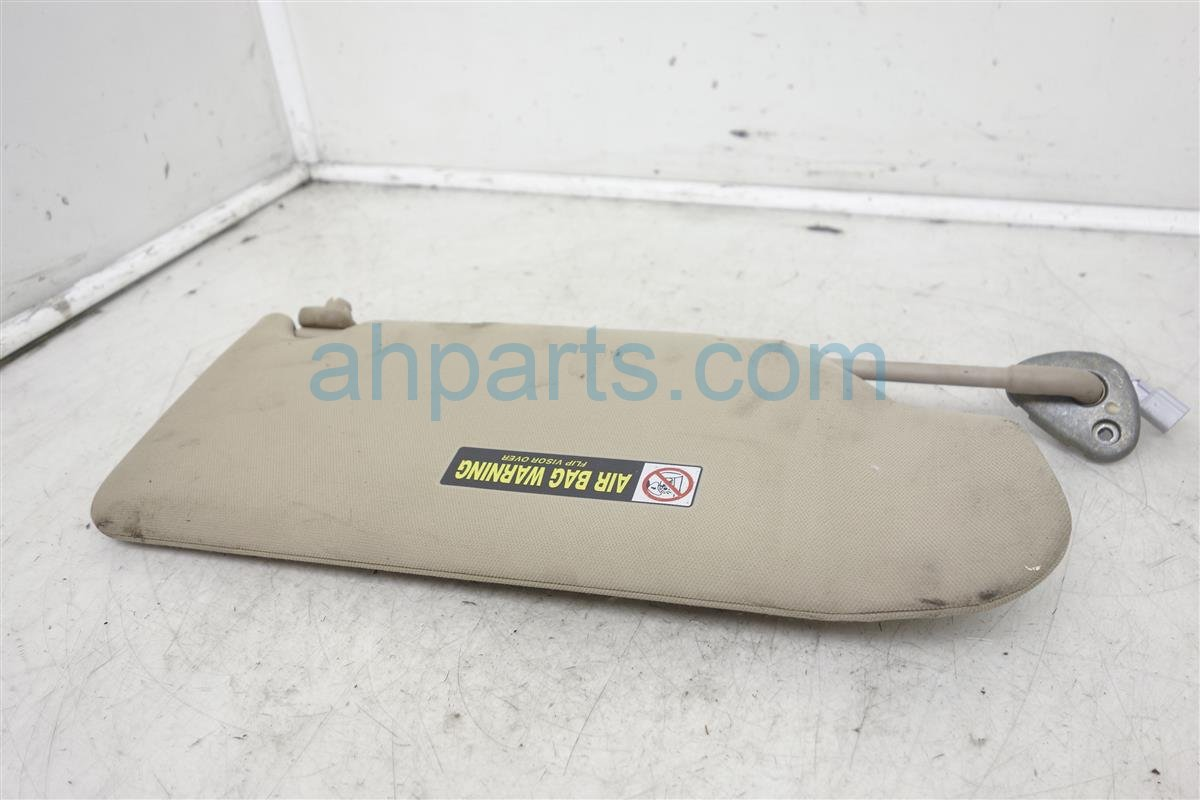 2005 Honda Accord Driver's Sun Visor  ivory/tan 83280 SDB A03ZB Replacement