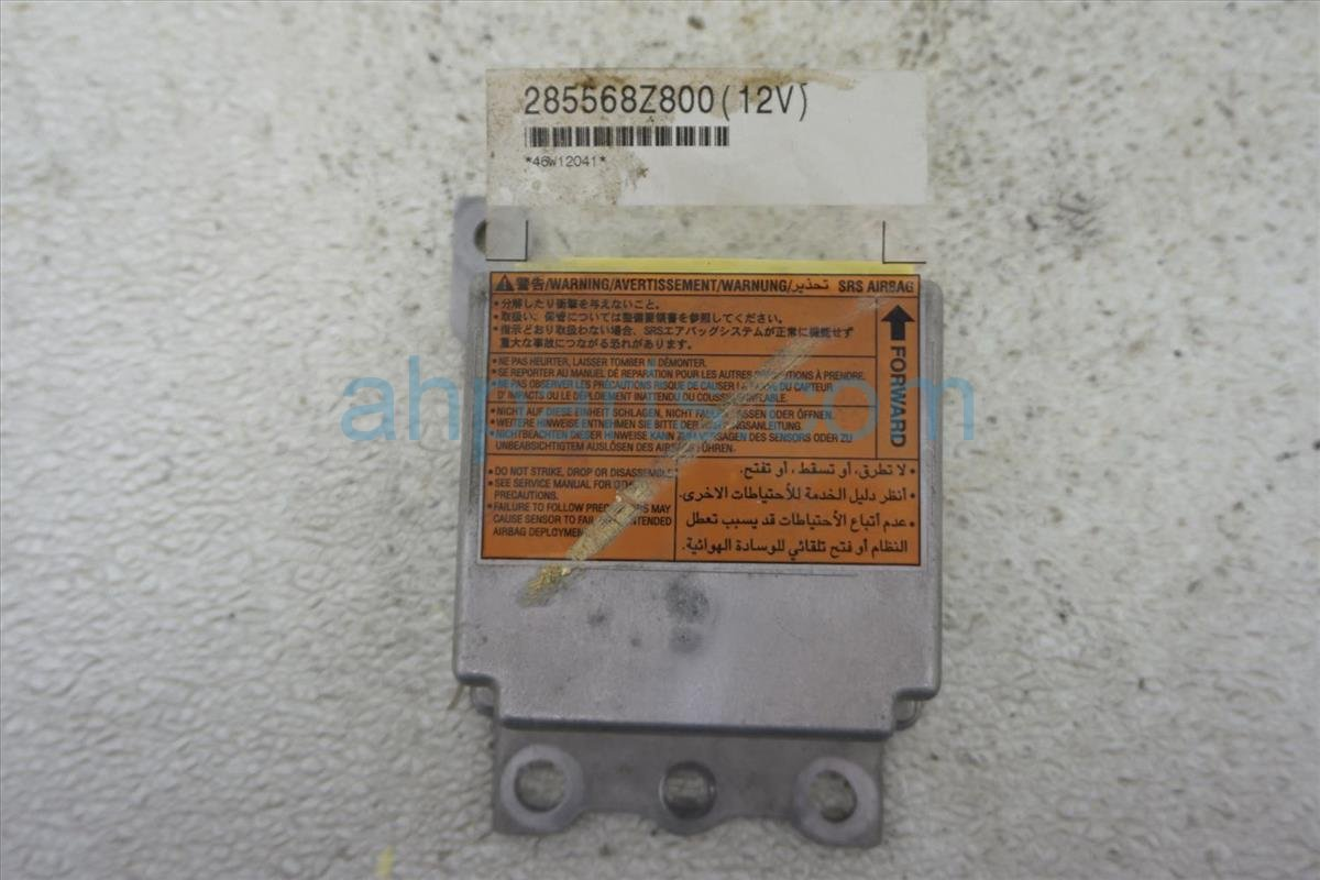 2004 Nissan Frontier Srs Airbag Computer 28556 8Z825 Replacement