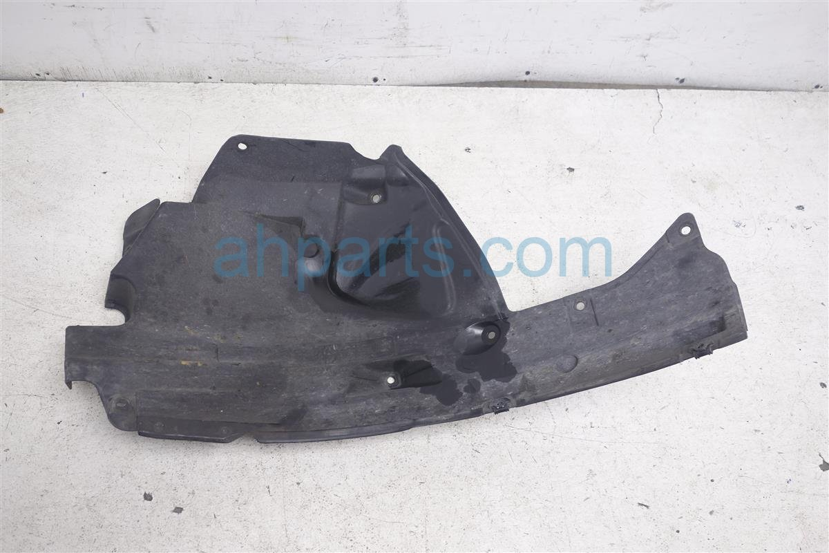 2011 Infiniti G25 Front Driver Fender Liner (rear Half) 63843 JK000 Replacement