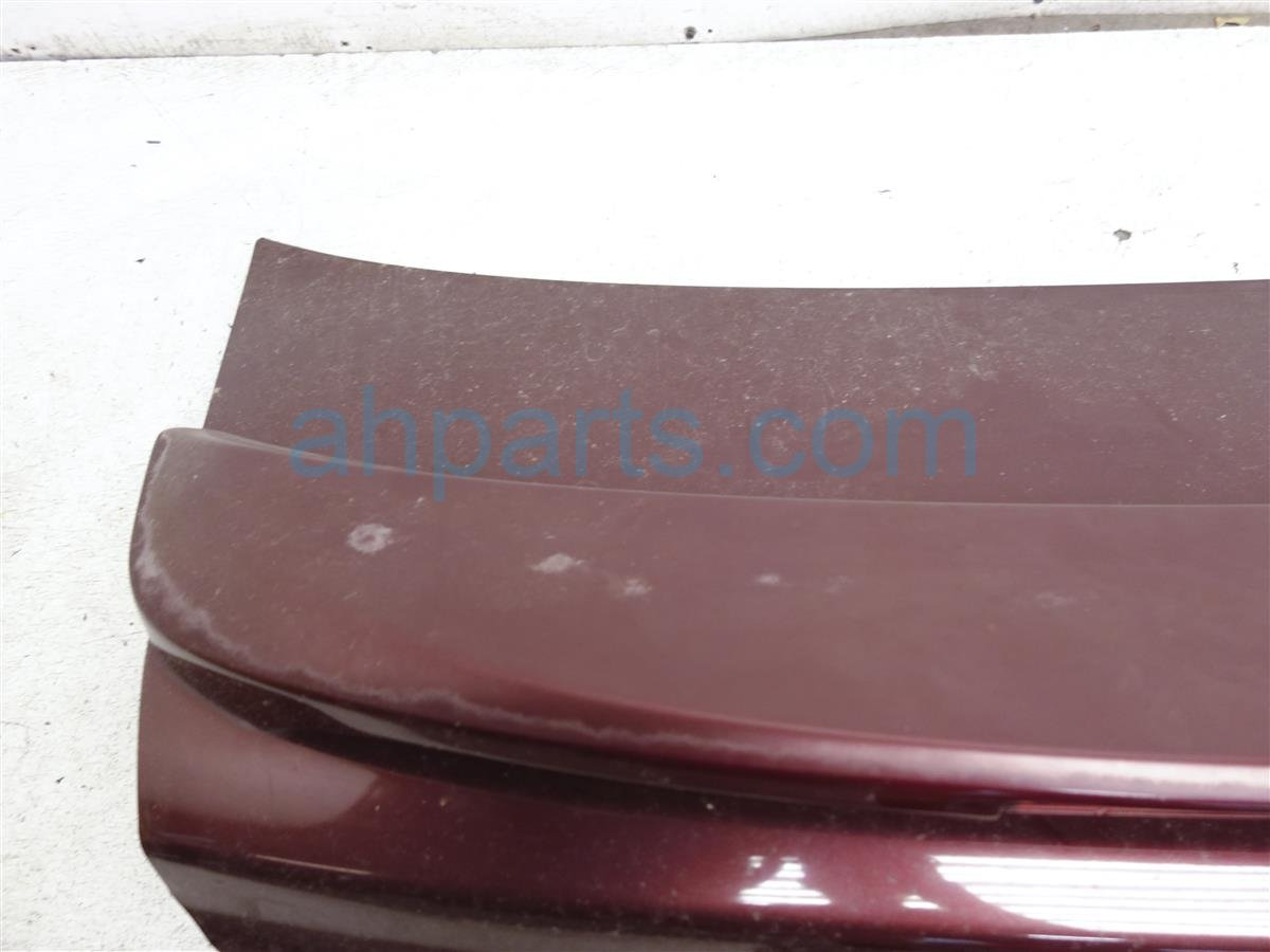 2002 Nissan Maxima Deck Trunk Lid W/spoiler   Burgundy H4300 4Y9CF Replacement
