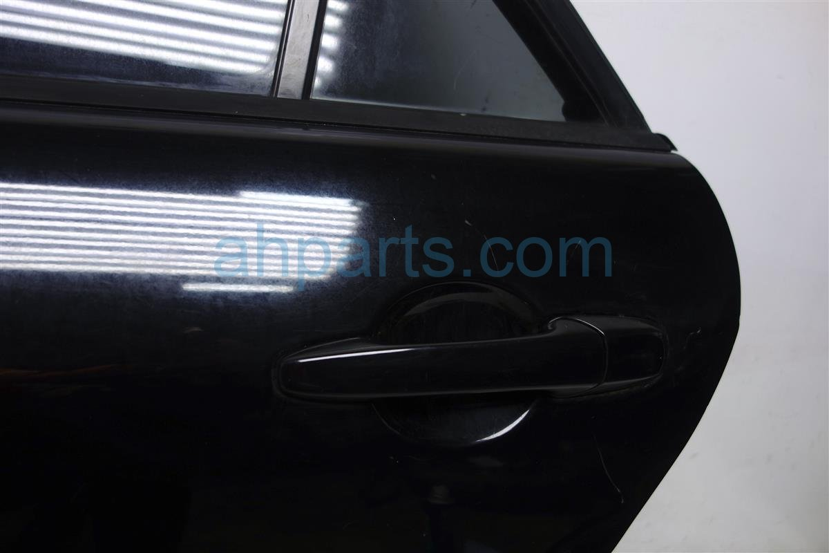 2004 Mazda Mazda 6 Rear Driver Door   Shell Black Has Dings GK2C 73 020 Replacement