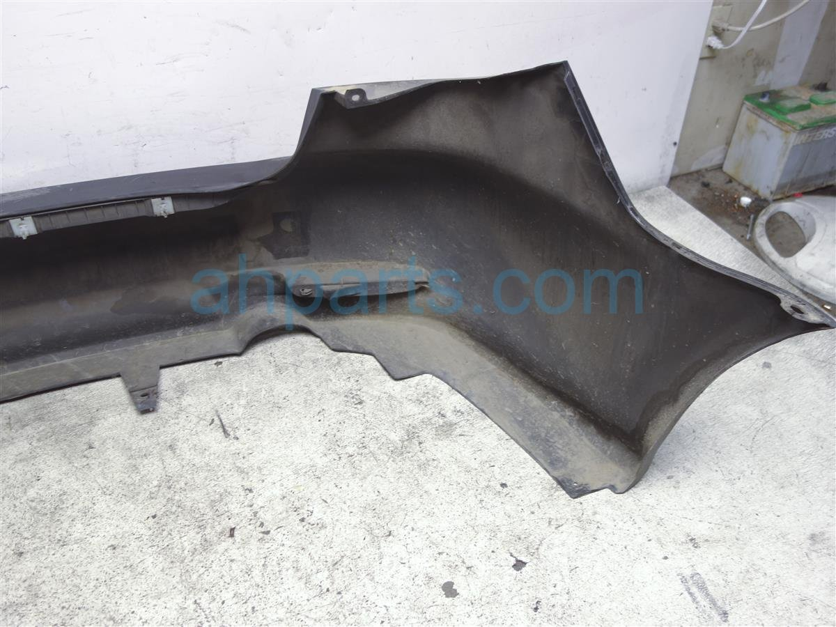 2004 Mazda Mazda 6 Rear Bumper Cover Black Has Damage GKYC 50 221 BB Replacement