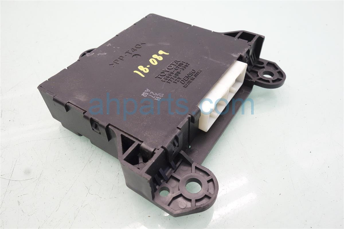 2007 Toyota Prius Heater Core Amplifier Control Unit 88650 47051 Replacement