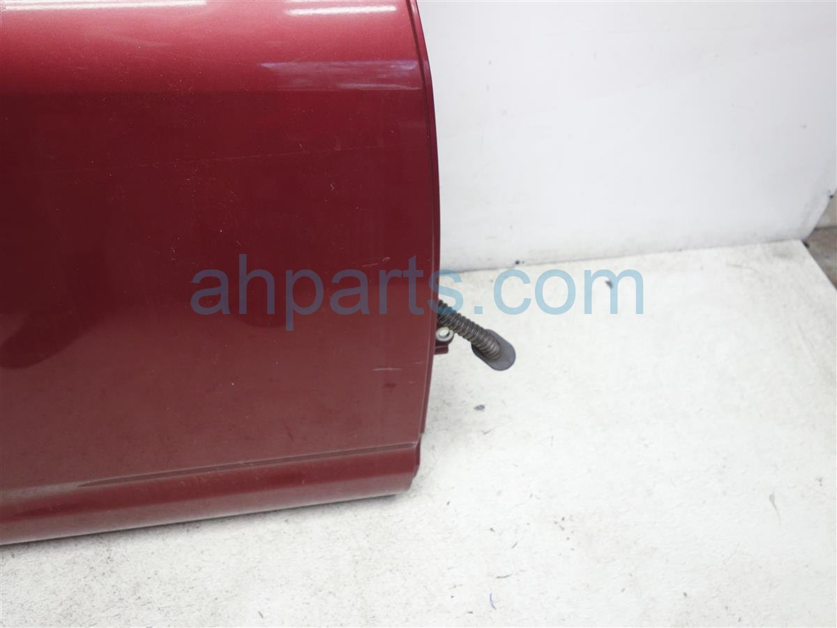 2010 Nissan Rogue Rear Passenger Door  Burgundy H210M JM0MA Replacement