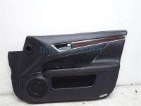 $185 Lexus FR/R DOOR PANEL (TRIM LINER) BLACK