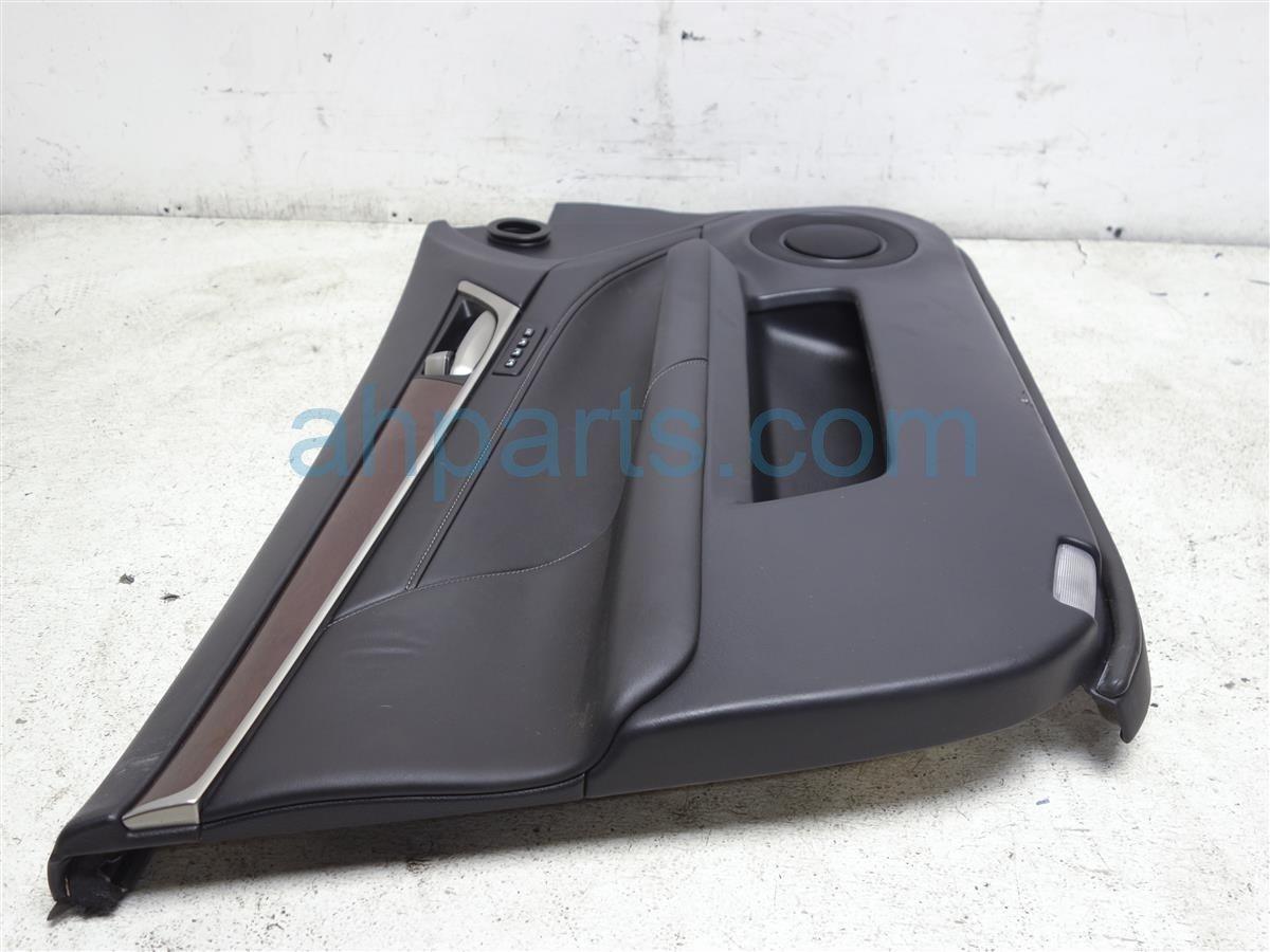 2013 Lexus Gs350 Trim / Liner Front Driver Door Panel No Switch Black 6771230130C0 Replacement