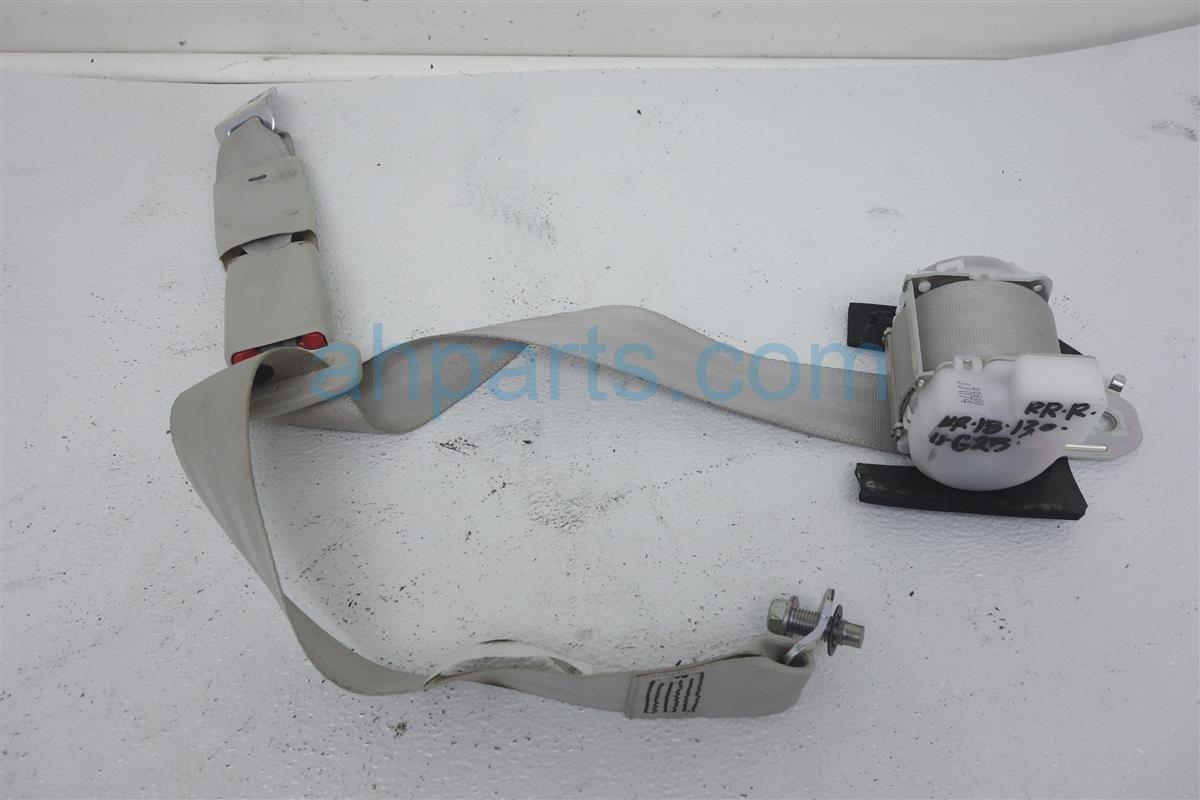 2011 Infiniti G25 Rear Passenger Seat Belt  Grey 88844 1NF2D Replacement