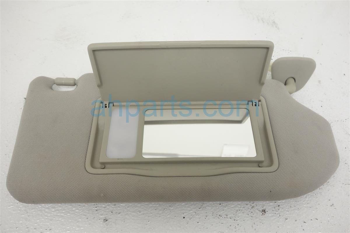 2011 Infiniti G25 Passenger Sun Visor  beige 96400 JK600 Replacement