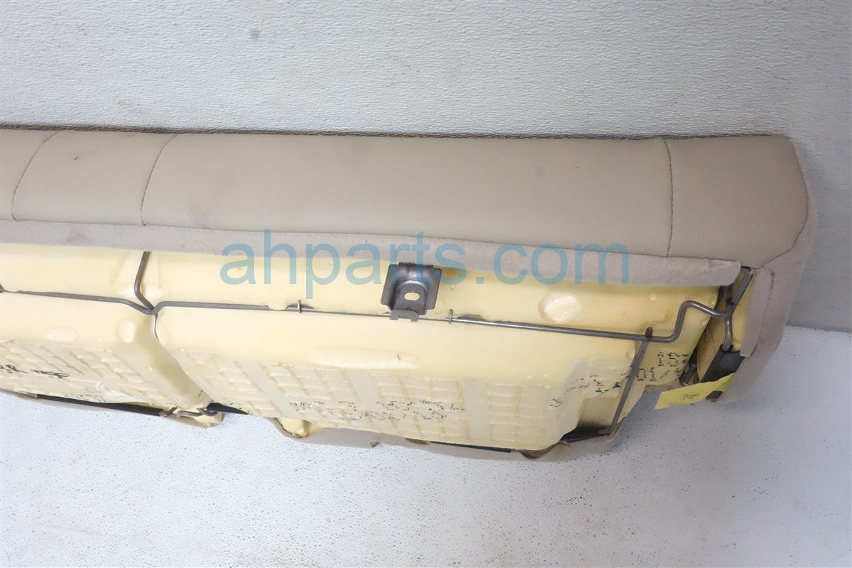 2015 Acura MDX Back (2nd Row) Rear Bottom Seat Portion   Tan Replacement