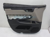 $165 Honda FR/L DOOR PANEL NO SWITCH TAN