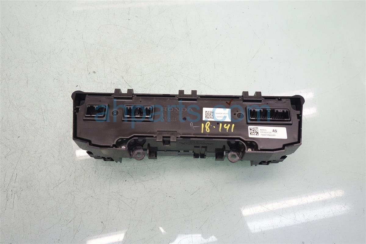 2018 Honda Odyssey Temperature Climate Heater/ac Control(on Dash) 79600 THR A52ZB Replacement