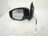 $70 Nissan LH SIDE REAR VIEW MIRROR SILVER