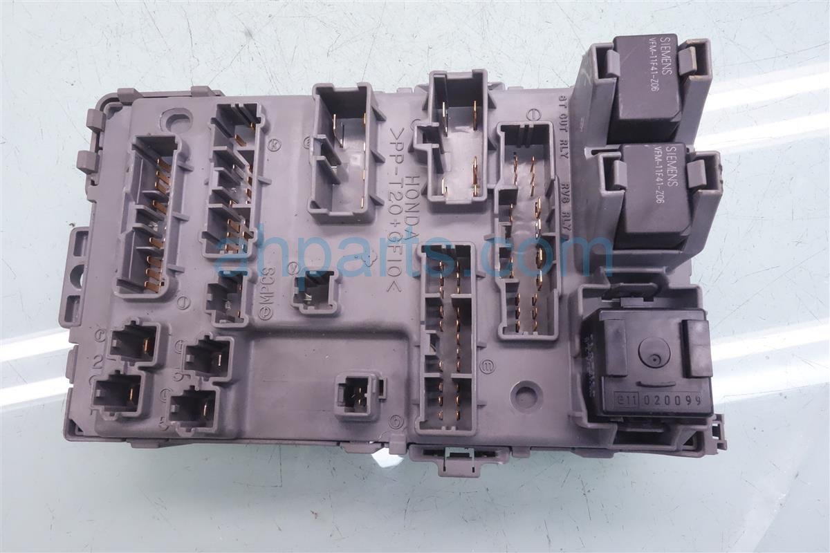2001 acura mdx driver cabin fuse box 38200 s3v a01 replacement