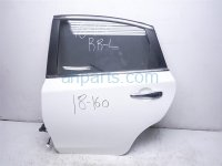 $389 Nissan RR/L DOOR NO TRIM PANEL WHITE