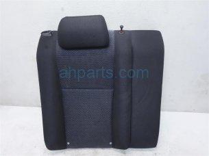 Rear passenger SEAT UPPER PORTION BLACK