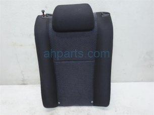 Rear driver SEAT UPPER PORTION BLACK