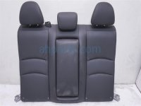 $175 Honda REAR SEAT TOP PORTION BLACK LEATHER