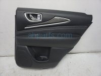 $275 Infiniti RR/R DOOR PANEL (TRIM LINER) - BLACK