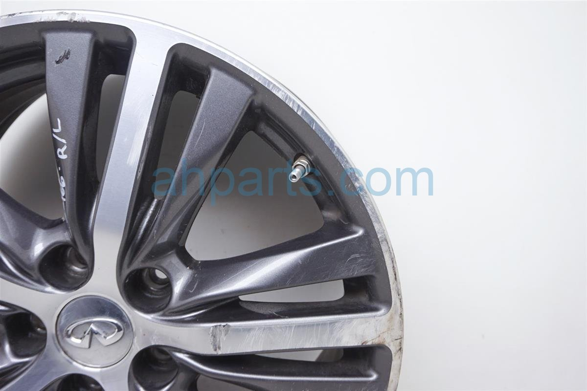 2017 Infiniti Qx60 Rear Driver Wheel/rim   Black/silver 40300 9NB2A Replacement